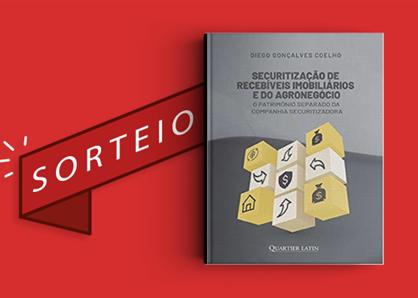 """Resultado do sorteio da obra """"Securitização de Recebíveis Imobiliários e do Agronegócio"""""""