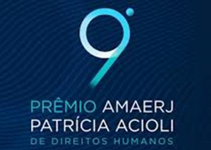 Amaerj premiará defensores dos Direitos Humanos na próxima segunda
