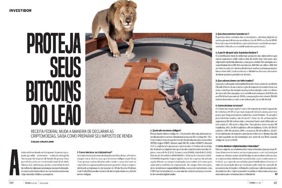 Proteja seus Bitcoins do Leão: como declarar criptomoedas